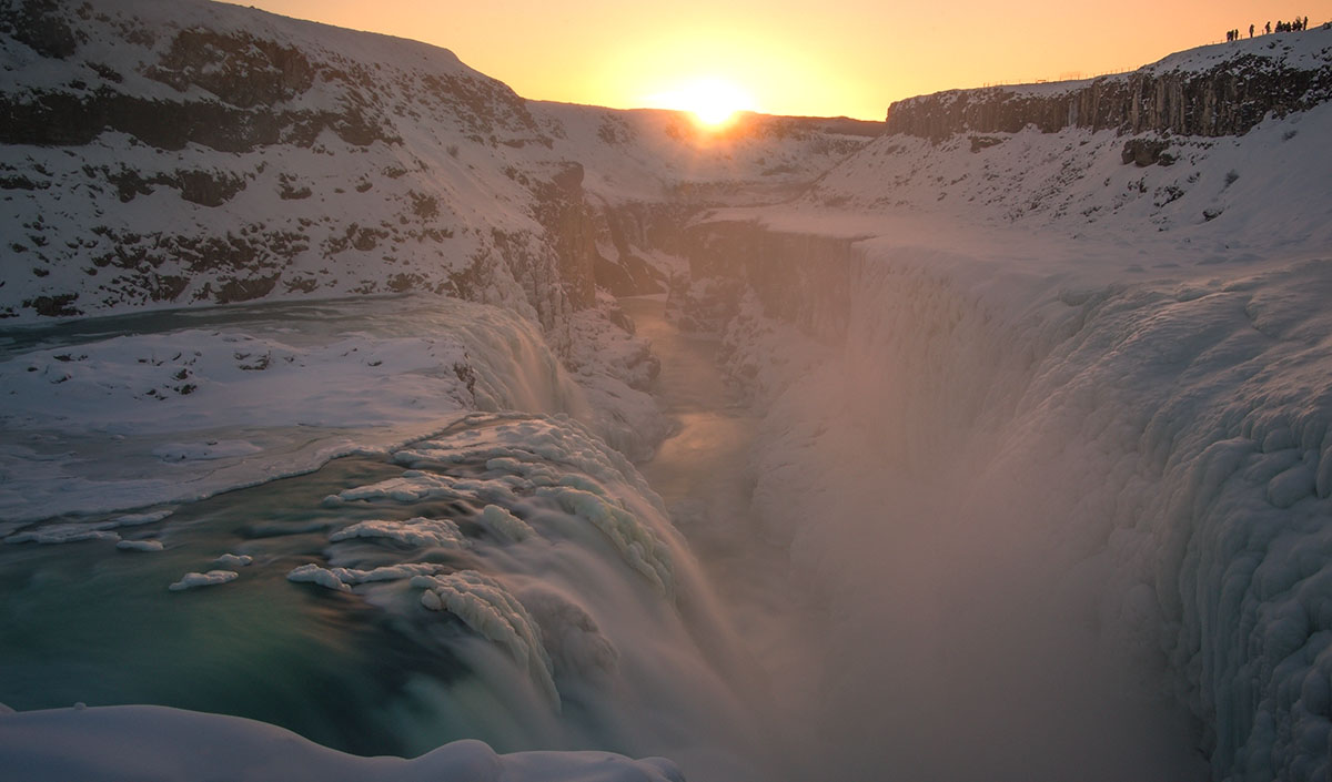 Winter, Iceland, Wide Angle Image